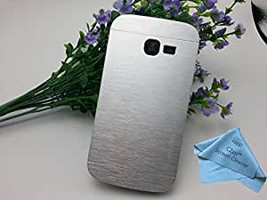CZap Motomo Full Metal Protective Hard Back Case Cover for Samsung Galaxy Star Pro S7262 - Silver