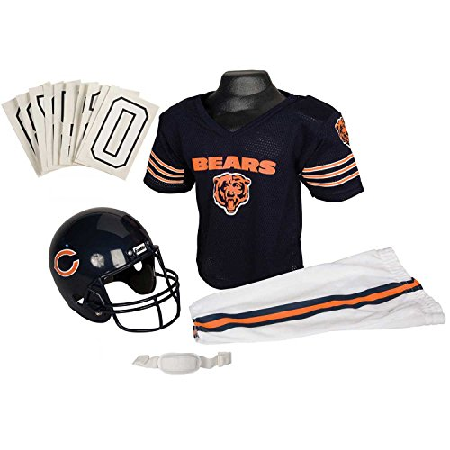 Franklin Sports NFL Team Licensed Youth Uniform Set - Chicago Bears