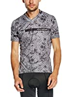 JOLLYWEAR Maillot Ciclismo Fashion Skull (Gris / Negro)