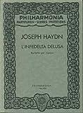 UNIVERSAL EDITION HAYDN JOSEPH - L'INFEDELTA DELUSA - SCORE Classical sheets Pocket score