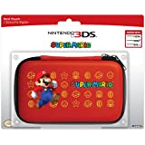HORI Nintendo 3DS Super Mario Hard Pouch - Red