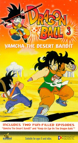 Dragon Ball - Yamcha The Desert Bandit (Vol. 3)(Episodes 5 & 6) [VHS] (Dragon Ball Season 5 compare prices)