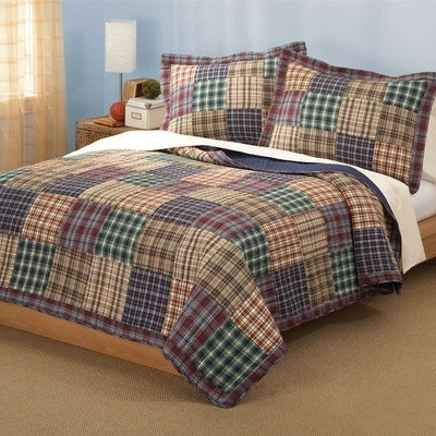 Colcha para cama tamaño grande con 2 Shams Bradley