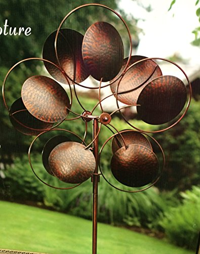 """Style Craft Kinetic Wind Sculpture - Large 24.5"""""""