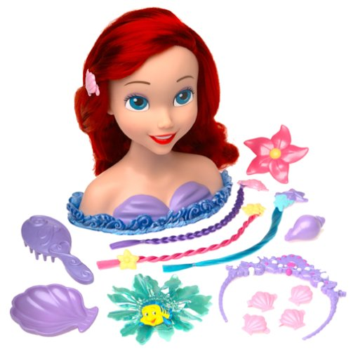 Disney Stylin Fun Ariel   Crazy Curls: Toys & Games