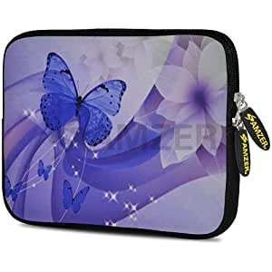 AMZER 10.5 Inch Neoprene Sleeve - Butterfly Swish for Apple iPad Air