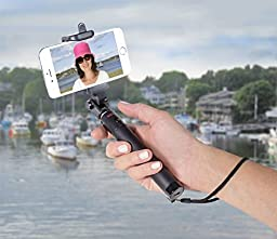 Rizilink MP900 Ultra Compact/Expandable Bluetooth Selfie stick, Monopod for iPhone 6, iPhone 5S, Samsung Galaxy S6 S5, Android