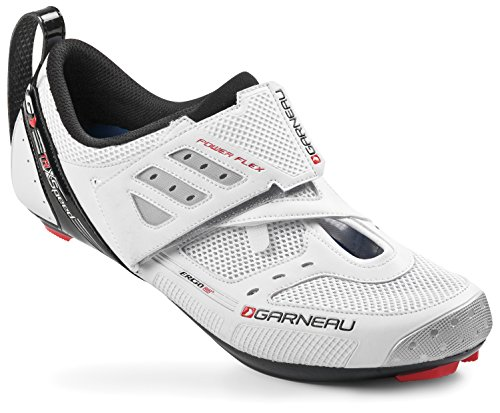 Louis Garneau Tri X-Speed II Shoes - Men's White, 43.0