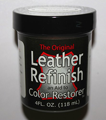Dark Brown - Leather Refinish an Aid to Color Restorer (Leather Repair) (Vinyl Repair) (Dark Brown Leather Furniture Dye compare prices)