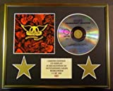 AEROSMITH/CD DISPLAY/ LIMITED EDITION/COA/PERMANENT VACATION