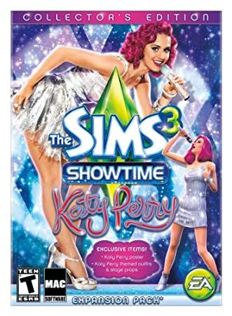 Sims 3 Showtime Katy Perry Collector's Edition  [Mac Download]