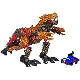 Transformers Age of Extinction Construct Bots Dinofire Grimlock and Optimus Prime Set