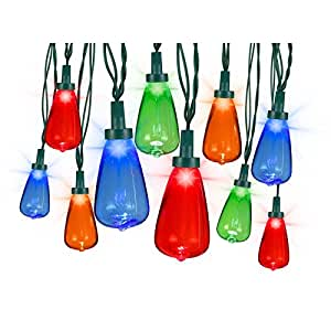Indoor String Lights Nz : Amazon.com: Light String 10 Count Edison Bulb Style Starry Night Multicolored LED Lights 10.5ft ...