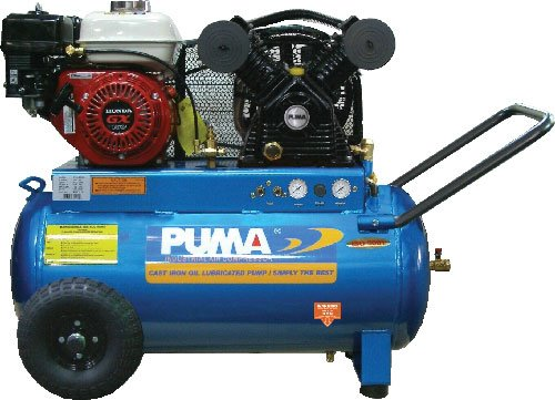 Puma Air Compressor Air Compressor GX160 Honda 20 GAL #PN5520G