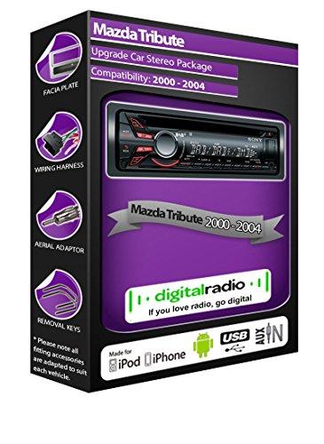 mazda-tribute-dab-radio-car-stereo-sony-cdx-dab500u-cd-player-usb-aux-headunit