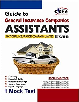 Guide to GIC - General Insurance Companies : Assistants National Insurance Company Limited Exam with 1 Practice Set : Assistants National Insurance Company Limited Exam with 1 Mock Test price comparison at Flipkart, Amazon, Crossword, Uread, Bookadda, Landmark, Homeshop18