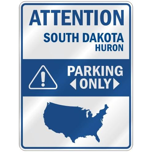 Huron Parking Sign