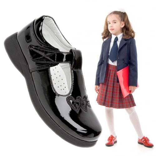 Mas Back to school Black Childrens Shoes