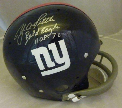 Giants Autograph, Giants Y.A. Tittle Autograph, Y.A. Tittle New York