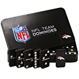 NFL Denver Broncos Domino Set in Metal Gift Tin at Amazon.com