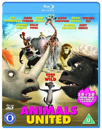 Animals United 3d Blu-ray
