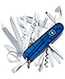 Victorinox Swiss Army Knife - Swisschamp In Jelly Blue