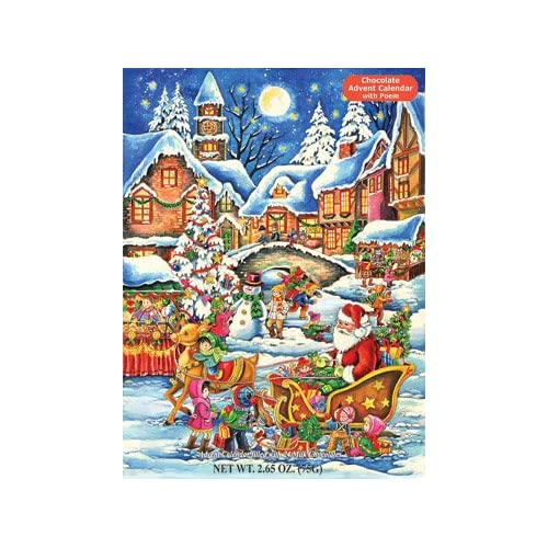 Santas Here Chocolate Advent Calendar