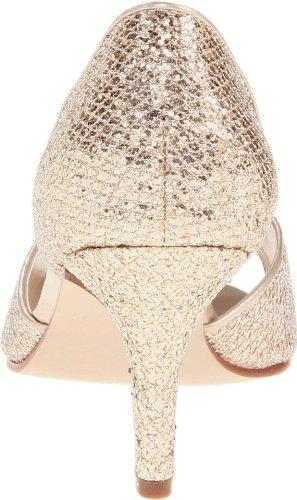 Touch Ups Women's Jolee Pump,Champagne Glitter,8.5 W US