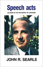 speech acts an essay on the philosophy of language 1969