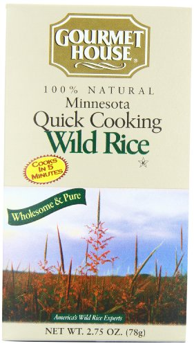 Riviana Fine Foods - Mn Rice, Wild, Quick, 2.75-Ounce (Pack of 6) (Mn Wild Rice compare prices)