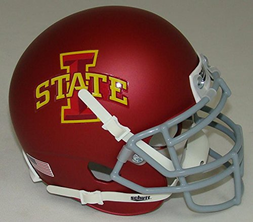 NCAA Iowa State Cyclones Matte Mini Helmet, One Size, White (Iowa State Football Helmet compare prices)
