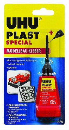 UHU 10945 Plast Spezial Adesivo, Trasparente, 30 gr