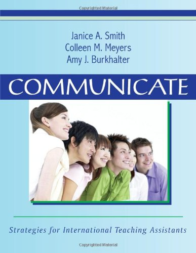 Communicate: Strategies for International Teaching...