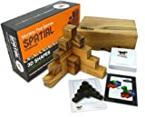 Monkey Pod Games Spatial Challenge - 3D Shapes of Animals, Buildings and Structures to Replicate