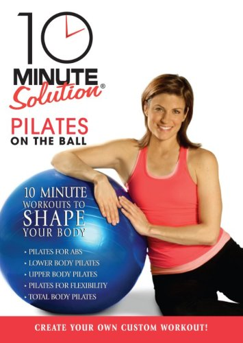 10 Minute Solution: Pilates on the Ball [DVD] [Region 1] [US Import] [NTSC]