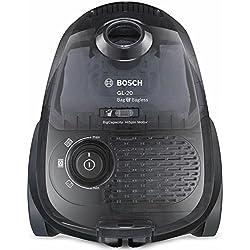 Bosch BGL2B1128 GL-20 Bag & Bagless - Aspirador dual, eficiencia energética B, filtro higiénico