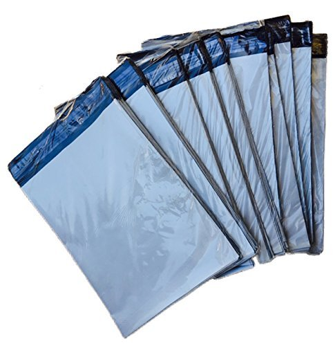 AZ-Cover 9x12-Inch 2.5-Mil Poly Mailers Envelopes Bags - 500 count