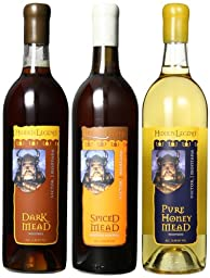 Hidden Legend Contemporary Mead Variety Mixed Pack, 3 x 750 mL