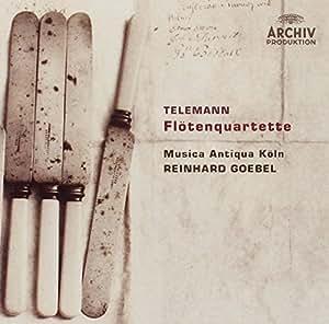 Telemann : Quatuors pour flûte (Flotenquartette)