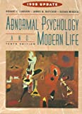 Abnormal Psychology and Modern Life: 1998 Update (0321018338) by Carson, Robert C.