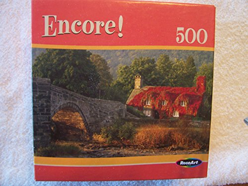 RoseArt Encore Cottage In Wales 500 Piece Puzzle