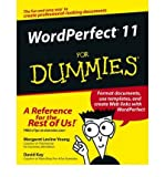 WordPerfect 11 For Dummies (0764543520) by Young, Margaret Levine