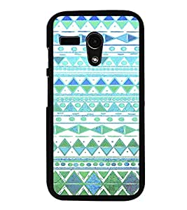 iFasho Animated Pattern colrful tribal design Back Case Cover for Moto G
