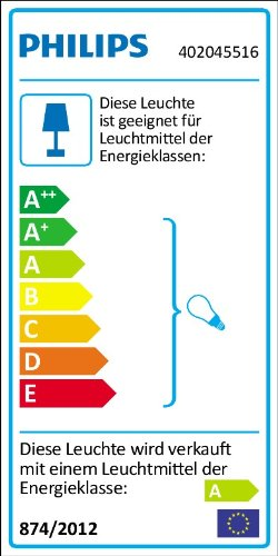 Philips-Rocky-Lampada-a-Sospensione-Bambino-Missile-Multicolor-Lampadina-Risparmio-Energetico-Inclusa