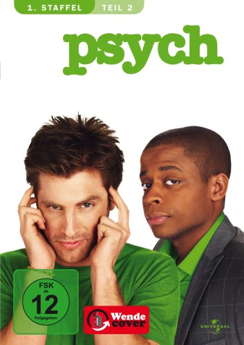 Psych - Season 1.2 [3 DVDs]