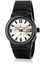 Maxima Attivo Analog Silver Dial Mens Watch - 25292CMGB