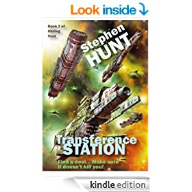 Transference Station (novella 2 of the Sliding Void science fiction series).