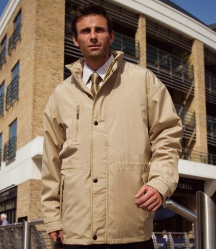 Result City Executive Coat Sand XL