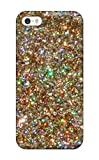 ZippyDoritEduard Fashion Protective Glittery Gold Dusts Case Cover For Iphone 5/5s