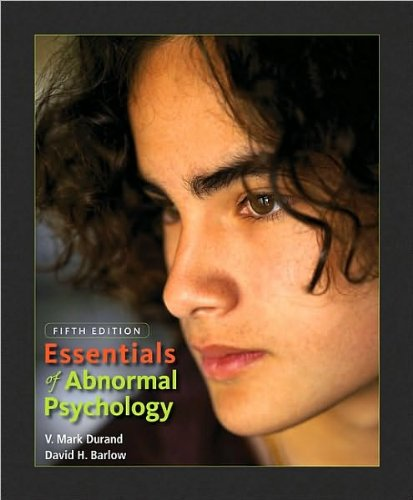 Essentials of Abnormal Psychology (Fifth Edition)